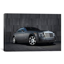 Cars and Motorcycles 'Rolls Royce Phantom Coupe' Photographic Print on Canvas