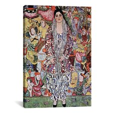 'Portrait of Friederike Maria Beer 1916' by Gustav Klimt Painting Print on Canvas