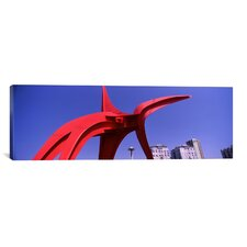 Panoramic 'Olympic Sculpture Park, Seattle, Washington State' Photographic Print on Canvas