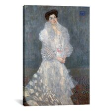 'Portrait of Hermine Gallia' by Gustav Klimt Painting Print on Canvas
