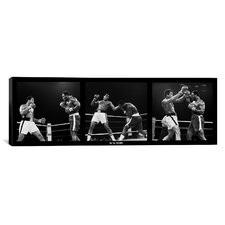 Muhammad Ali Vs. Frazier, Quezon City, Philippines, 1975 Photographic Print on Canvas in Black