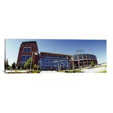 Panoramic Lambeau Field, Green Bay, Wisconsin Photographic Print on Canvas