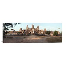 Panoramic 'Angkor Wat, Angkor, Cambodia' Photographic Print on Canvas