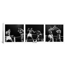 Muhammad Ali Vs. Frazier, Quezon City, Philippines, 1975 Photographic Print on Canvas in White
