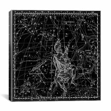 Celestial Atlas - Plate 4 (Auriga) by Alexander Jamieson Graphic Art on Canvas in Black