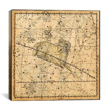Celestial Atlas - Plate 13 (Aries, Musca Borealis) by Alexander Jamieson Graphic Art on Canvas in Beige