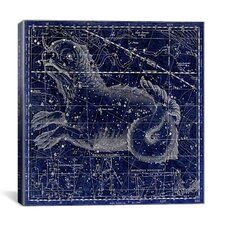 Celestial Atlas - Plate 23 (Cetus) by Alexander Jamieson Graphic Art on Canvas in Blue