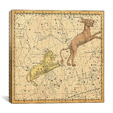 Celestial Atlas - Plate 5 (Lynx, Leo Minor) by Alexander Jamieson Graphic Art on Canvas in Beige