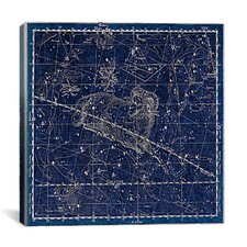 Celestial Atlas - Plate 13 (Aries, Musca Borealis) by Alexander Jamieson Graphic Art on Canvas in Blue