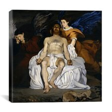 """The Dead Christ with Angels"" Canvas Wall Art by Edouard Manet"