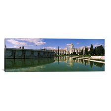 Panoramic Mosteiro Dos Jeronimos, Belem, Lisbon, Portugal Photographic Print on Canvas