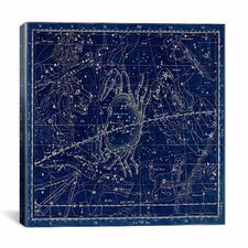 Celestial Atlas - Plate 16 (Cancer) by Alexander Jamieson Graphic Art on Canvas in Blue