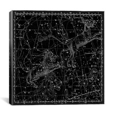 Celestial Atlas - Plate 5 (Lynx, Leo Minor) by Alexander Jamieson Graphic Art on Canvas in Black