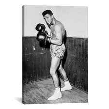 Muhammad Ali 'Winner of Golden Gloves Heavyweight Title, 1960' Photographic Print on Canvas