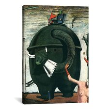 """The Elephant Celebes"" Canvas Wall Art by Max Ernst"