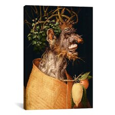 'Winter' by Giuseppe Arcimboldo Painting Print on Canvas