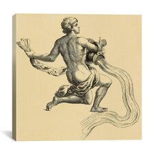 Astronomy and Space Water Bearer (Aquarius) Graphic Art on Canvas in Beige