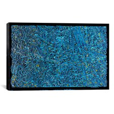 """The Blue Staircase Maze"" Canvas Wall Art by David Russo"