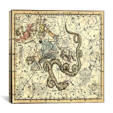 Celestial Atlas - Plate 2 (Ursa Minor) by Alexander Jamieson Graphic Art on Canvas in Beige