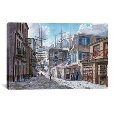 """St of the Tall Ships"" Canvas Wall Art by Stanton Manolakas"