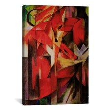 'The Fox' by Franz Marc Painting Print on Canvas