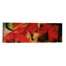 'The Fox Panoramic' by Franz Marc Painting Print on Canvas