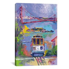 """San Francisco"" Canvas Wall Art by Richard Wallich"
