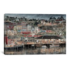 """San Pedro by Starlight"" Canvas Wall Art by Stanton Manolakas"