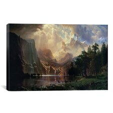 Among Sierra Nevada In California Canvas Print Wall Art