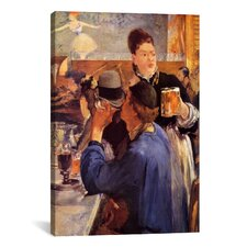 'The Weitress' by Edouard Manet Painting Print on Canvas