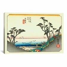 """""""Shirasuka"""" Canvas Wall Art by Utagawa Hiroshige l"""