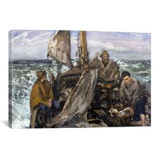 'The Toilers of the Sea' by Edouard Manet Painting Print on Canvas