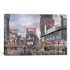 """Times Square: New York"" Canvas Wall Art by Stanton Manolakas"