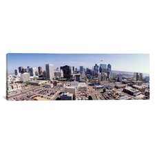 Panoramic California, San Diego, Downtown District Photographic Print on Canvas