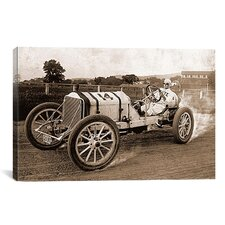 Photography Vintage Race Car Graphic Art on Canvas