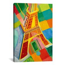 """Tour Eiffel (Tower)"" Canvas Wall Art by Robert Delaunay"