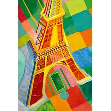 """""""Tour Eiffel (Tower)"""" Canvas Wall Art by Robert Delaunay"""