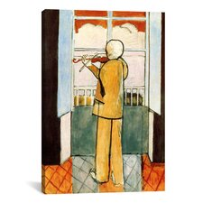 """Violinist at the Window"" Canvas Wall Art by Henri Matisse"