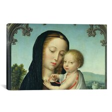 Christian 'Virgin and Child' by Gerard David Painting Print on Canvas