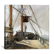 """The Ship's Deck"" Canvas Wall Art by Edouard Manet"