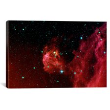Stars Hatching from Orions Head (Spitzer Space Station) Canvas Wall Art