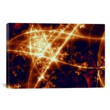 Digital Starlight Graphic Art on Canvas