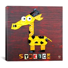Stretch the Giraffe Canvas Wall Art from Design Turnpike