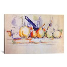 'Still Life with Saucepan, 1902' by Paul Cezanne Painting Print on Canvas