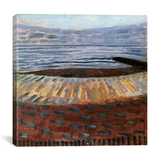"""Sea at Sunset, 1909"" Canvas Wall Art by Piet Mondrian"
