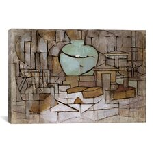 """Still Life with Gingerpot ll, 1912"" Canvas Wall Art by Piet Mondrian"
