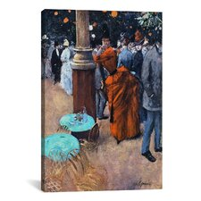 Fine Art 'The Public Garden' by Jean-Louis Forain Painting Print on Canvas