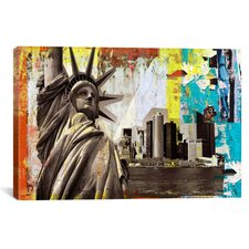 'Statue of Liberty' by Luz Art on Canvas