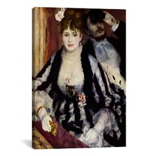 'The Theatre Box (La Loge)' by Pierre-Auguste Renoir Painting Print on Canvas