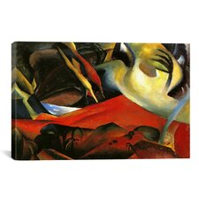 'The Storm 1911' by August Macke Painting Print on Canvas